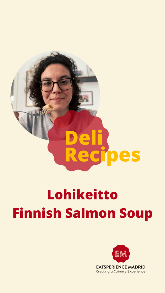 Lohikeitto Finnish Salmon Soup Instagram Cover